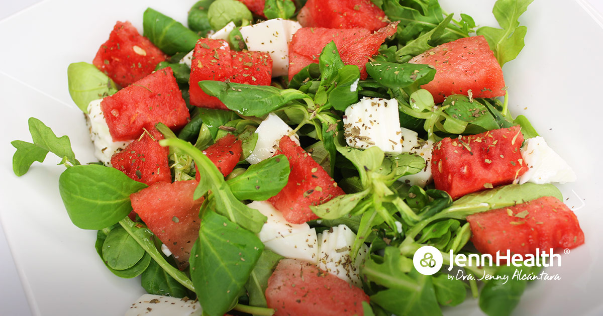 ensalada de verano saludable